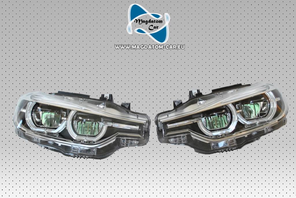 2x neu original uk voll led scheinwerfer headlights bmw 3 f30 f31 m3 kaufen bei magdatom car t. Black Bedroom Furniture Sets. Home Design Ideas