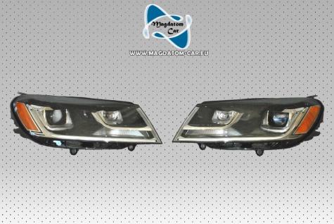 2x Neu Original Scheinwerfer Bixenon mit Kurvanlicht USA-Version VW Touareg 7P0941754