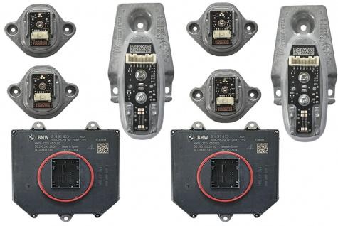 Neu Original Satz fur Scheinwerfer Laserlicht LED Module Led Steuergeräte Hauptlichtmodul Blinker BMW 7' G11 G12