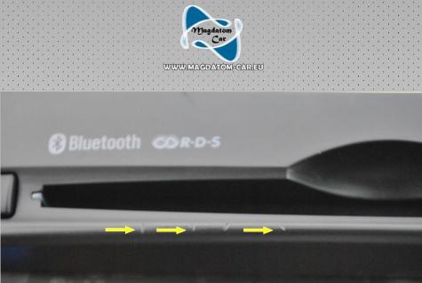 1x Neu Original Radio Navigationssystem Multimediapanel Hyundai I30 2014 96560-A6000 - Vorschau 3