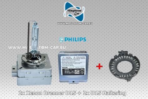 2x Neu Original Brenner Lampen D1S + 2x Haltering fur MERCEDES E W212 212 C W204 204