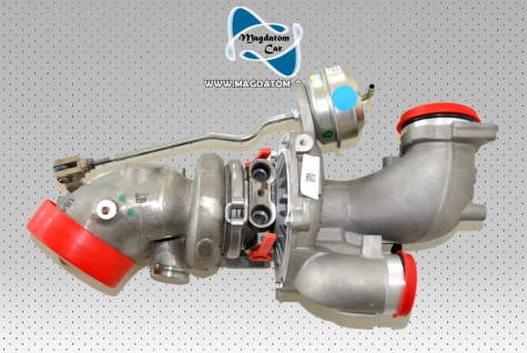 1x Neu Original Turbolader Rechts Mercedes W205 C205 W212 W213 W207 C207 W218 A2760901280
