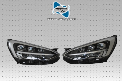 2x Neu Original Full Voll Led Scheinwerfer Links und Rechts Seite Komplett Ford Focus MK4 JX7B-13E015-AB
