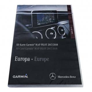 Neu Original Garmin MAP PILOT NEUESTE V. 9.0 2017/2018 SD-karte A2189061903 Mercedes A W176 B W246 CLA CLS E GLA GLE GLS
