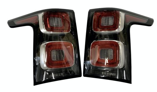 2X NEUE ORIGINAL Rücklicht HINTERE LAMPEN VOLL LED USA VERSION RANGE ROVER VOUGE JK52-13404-BE JK52-13405-BE