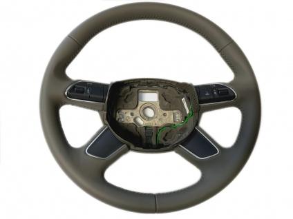 Neu Original Lenkrad Leder + Multifunktion Steering Wheel fur Audi A4 8K B8 Q5 Q7 4L 4L0419091AC