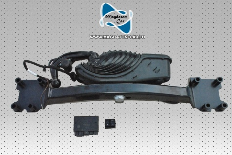 Neu Original Anhängerkupplung Komplett mit Steuergerät und Schalter AHK Audi Q7 4M0803881F