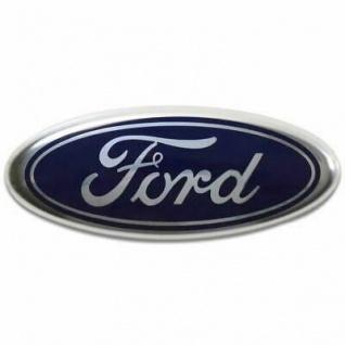 1x Neu Original Emblem Ford für Stoßstange Abzeichen Vorne Motorhaube Oval Abzeichen Emblem Ford C-Max S-Max Focus Fiesta Transit C1BB-8B262-BA