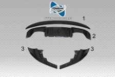 Neu Original CARBON Set Splitters Stoßstange Spoiler Difusor BMW M-performance M2 F87 51122361665 / 51112361671