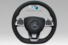 Neu Original Lenkrad AMG Schwarz Leder + Airbag Multifunktion steering wheel Mercedes CLS C218 CLA W205 W156 W172 W176 W246 A0004603403