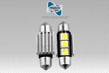 2 Canbus Soffitte 3 SMD LED Birne Lampe Sofitte 36mm Seat Ibiza Leon Altea Exeon