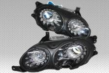 2x Neu Original Bixenon Xenon LED Scheinwerfer Schwarze Black Headlights Bentley Flying Spur