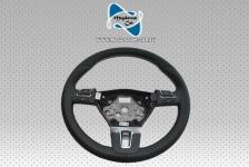Neu Original Lenkrad Steering Wheel Schwarz Leder + Multifunktion Ohne AirBag fur Vw Passat CC Golf Jetta 1Q0419091AP 3C8959537D
