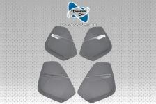 4x Neu Original Silber Lautsprecherabdeckung BOSE Loudspeaker trim Audi Q7 4M 2015-2016 4M0868152A 4M0868151A