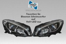 2x Neu Original VOLL LED Scheinwerfer Headlights Komplett Mercedes CLA W117 A117 A1178206761