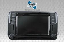 Original Radio Navigationssystem Discover Media Navigation mit DAB Empfang Volkswagen Beetle Caddy Camper T6 CC Golf 6 Jetta Scirocco Sharan Tiguan 5C0035680E