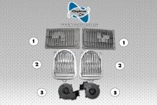 6x Neu Original Satz DRL Voll LED Modul Steuergerät Hauptlichtmodul Lüfter Mercedes W176 A176 CLA A117 W117