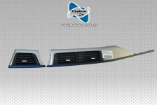 Original Dekorblende Blende Frischluftdüse Alu Hexagon Matt Blau Akzent Bmw 3 F30 F31 GT 4 F32 F36 9318071