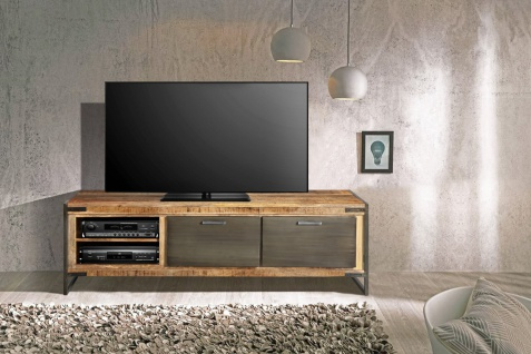 Lowboard TV-Board Mangoholz massiv 160 x 50 x 40 cm ARTA 1 by Wolf Möbel