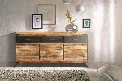 Sideboard Kommode Mangoholz massiv 170 x 85 x 40 cm ARTA 1 by Wolf Möbel