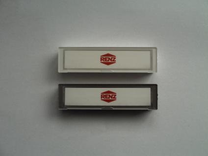 Renz Namenschild 09, 97-9-82359 Kunststoff