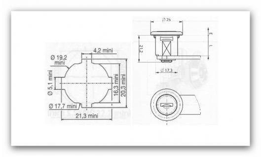 Briefkastenschloss R2 für Renz - Vorschau 2
