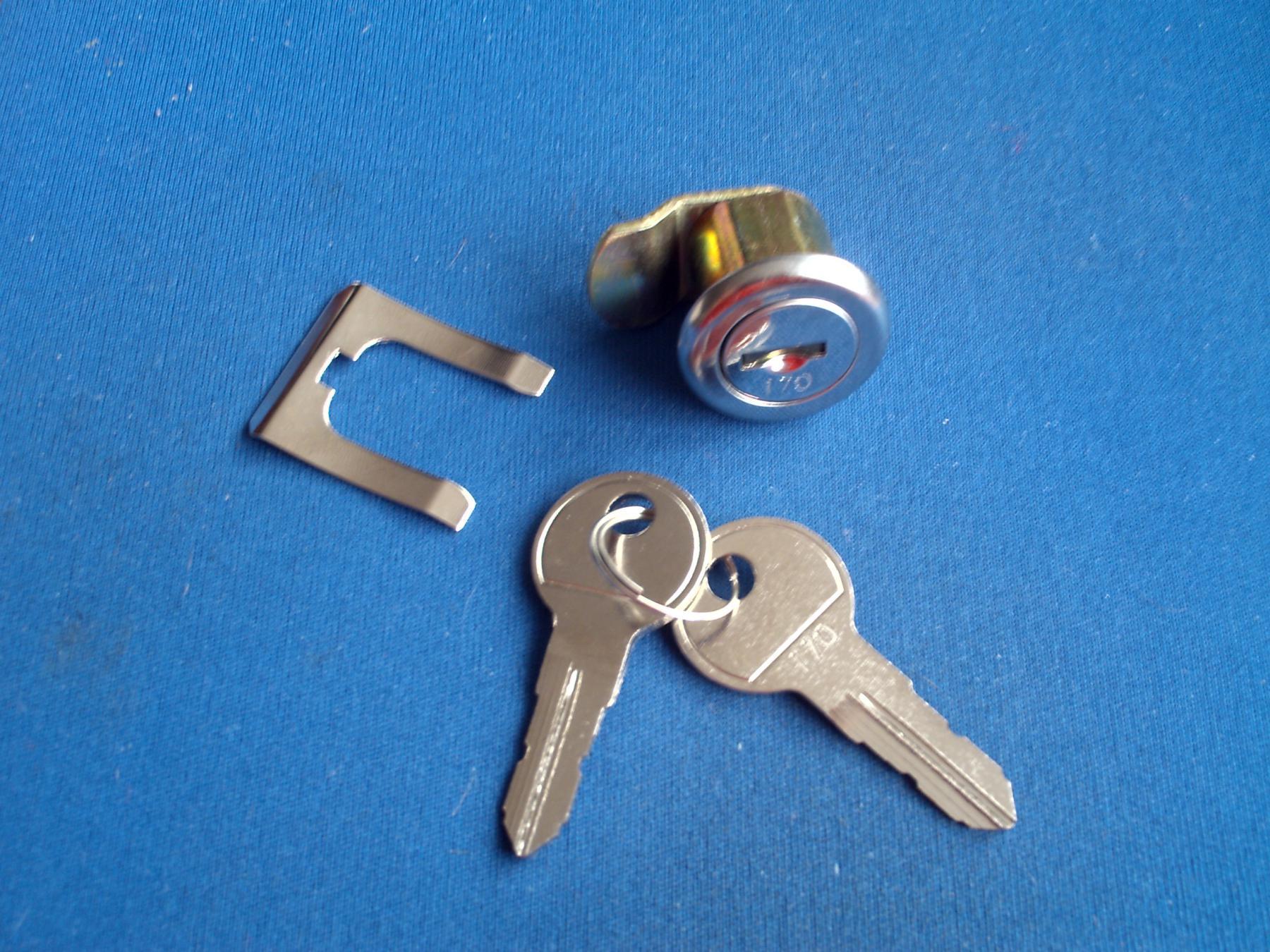 Briefkastenschloss//Hebelzlinder R1 passend für Renz 97-9-95085 mit 4 Schlüssel