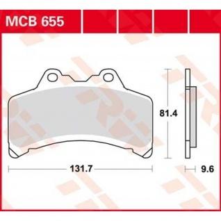 MCB655 Bremsbelag Yamaha 1000 GT 93-95 GTS - A 93-00