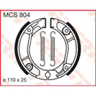 MCS804 Bremsbacken 110x25 Honda CB CD CT MB MBX MT NSR XL MTX XR