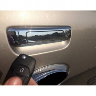 Laderaumabdeckung in schwarz mit Trenngitter und Zentralverriegelung SET für VW Amarok Aventura Double Cab ab Baujahr 2010 - Vorschau 4