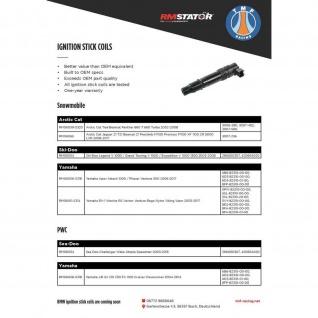 Ignition Cap Coil Yamaha FZ 1 V-Max 1700 YZF R1 R6 02-14 5PW-82310-00-00 5SL-82310-00-00 5VY-82310-00-00 5SL-82310-20-00