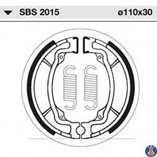 Bremsbacke Sbs 2015 Maße: 110 X 30 Kawasaki Ae50 Ae80 Suzuki Ap50 Drz 110 Gt 80 Rv 125 Rv 90 Ts 50 Ts 125 - Vorschau