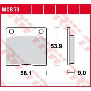 MCB73 Bremsbelag Kawasaki Suzuki