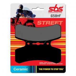 Bremsbelag SBS 658HF Street Ceramic