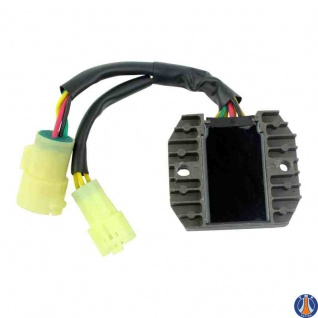 Mosfet Voltage Regulator Rectifier Kawasaki Ninja ZX 6R ZX 6RR 03-04 21066-0002 - Vorschau 2