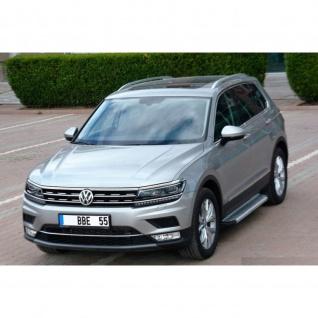 Trittbretter VW Tiguan ab Baujahr 2016 Model Olympus Chrom