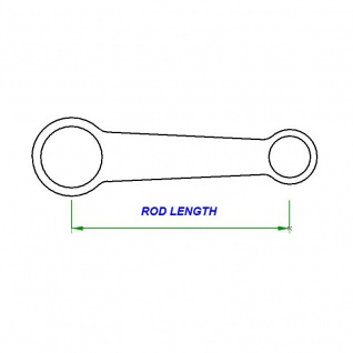 Connecting Rod Pleuel Kit Suzuki RMZ 250 04-13 / Kawasaki KXF 250 04-09 - Vorschau 4