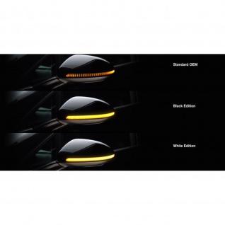 LEDriving® Dynamic Mirror Indicator VW Golf VII - White Edition Golf 7 Touran 5T 15-