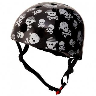 Kiddimoto Helm Skulls Totenkopf Größe M - 53-58 cm, geprüft nach EC EN1078