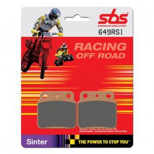 Bremsbelag SBS 649RSI Offroad Racing Sintermetall Suzuki LTZ 400