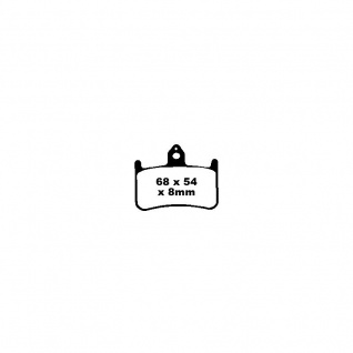 Blackstuff Bremse E11 90R-02A0207/19175 Organischer Belag