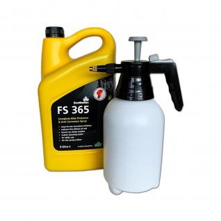 Scottoiler FS 365 Protector 5 Liter und Handdrucksprühe 1, 5 L Fassung