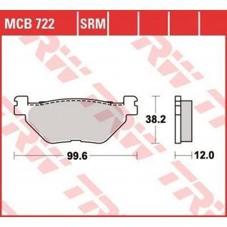 MCB722 Bremsbelag