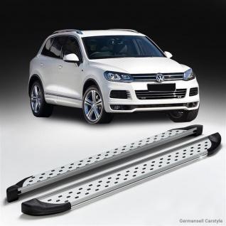 Trittbretter VW Touareg R-Line ab Baujahr 2002-2018 Model Olympus in chrom