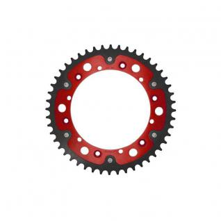 Stealth-Kettenrad Supersprox 520 - 44Z (rot) RST-853:44-RED D 152, 0 LK 175, 0 6-Loch/6-Loch