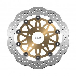 Bremsscheibe NG 0120X 310 mm, schwimmend gelagert (FLD) [Wavy]