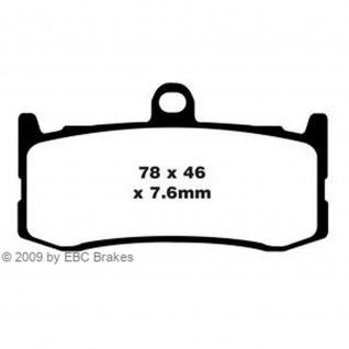 Extreme Pro Bremsbeläge EPFA491HH