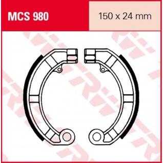 MCS980 Bremsbacken 150x24 LML Vespa Piaggio