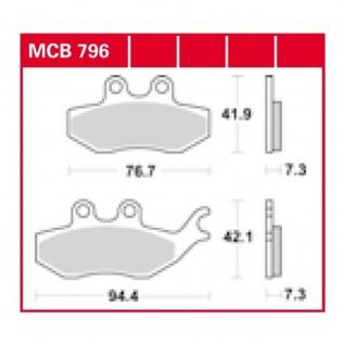 MCB796 Bremsbelag