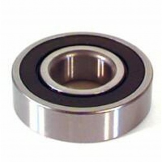 Lager 6203-2RK-QE6 40-17-12 Radial Ball Bearing with Double Lip Seal